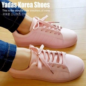 Cheap Peices Yadas Korea Sophia Sepatu Sneakers Wanita 5588 Pale