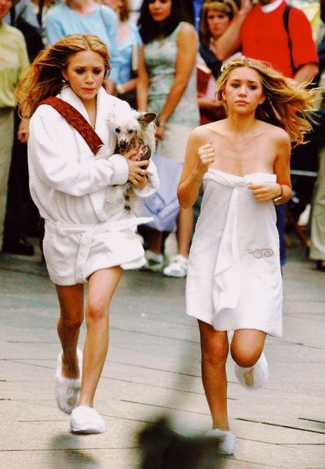 Olsen Twins, The elder sisters of actress Elizabeth Olsen,