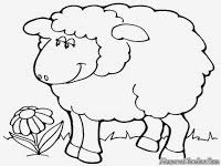 Hasil Gambar Untuk Gambar Domba Mewarnai