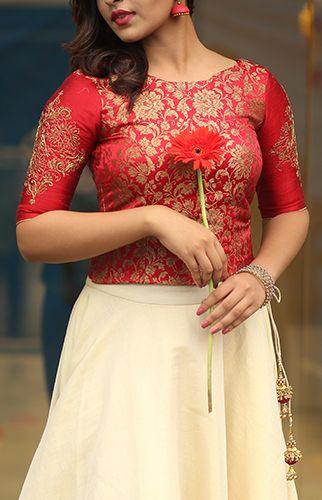 Sulekha Kerala Engagement Dress Long Blouse Designs Long Skirt And Top