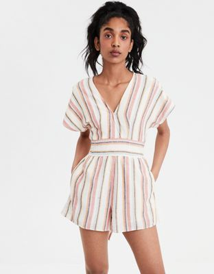 759bd3624acb Discover ideas about Striped Jumpsuit. January 2019. Women s Striped  Strappy Square Front Knit Jumpsuit - Xhilaration Mustard White ...