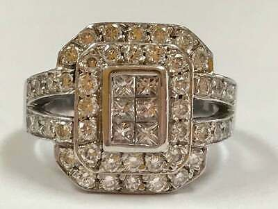 2.00ct White Round Cut /& Green Cubic Zirconia Diamond Vintage Artdeco Engagement Wedding Ring In 925 Sterling Silver
