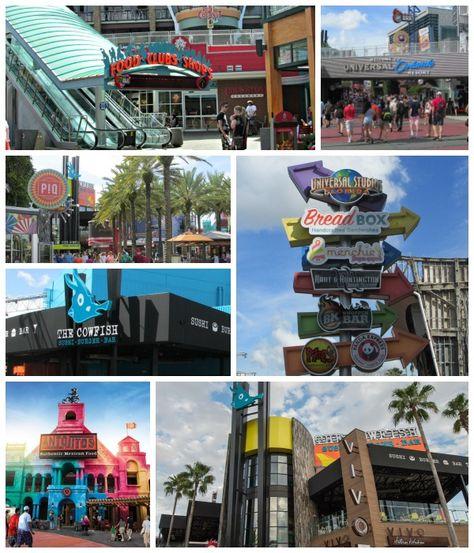 Universal Citywalk Orlando Restaurants Best Eats