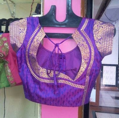 55 Trendy Blouse Back Neck Designs With Borders For Sarees Fashion Blouse Design Trendy Blouse Designs Saree Blouse Designs Latest