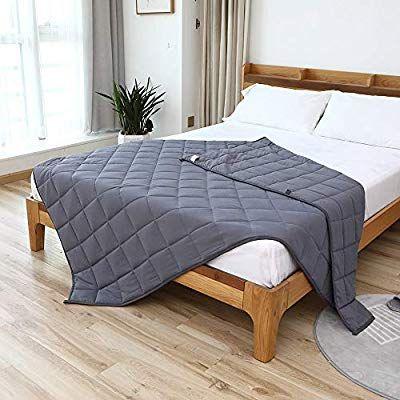 Amazon Com Smart Queen Weighted Blanket 20 Lbs 60 X 80