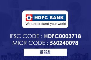 Hdfc Bank Hebbal Ifsc Code Coding Icici Bank Personal Loans