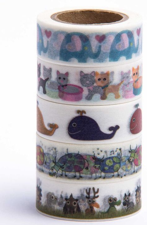 Mikoka Animals Washi Tape