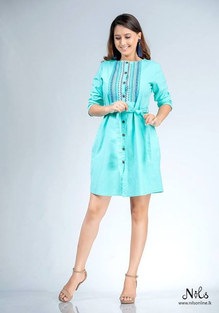 New Normal Frock Design In Sri Lanka Casual Dresses Frock