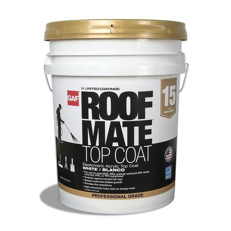 Henry 4 75 Gal Asphalt Emulsion Sealer And Dampproofer Roof Coating He107571 The Home Depot Roof Sealant Roof Coating Roof Sealer
