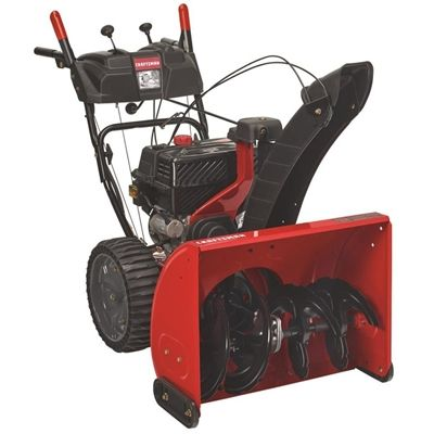 Craftsman 243cc 26 In Two Stage Gas Snow Blower Gas Snow Blower Snow Blower Home Snow