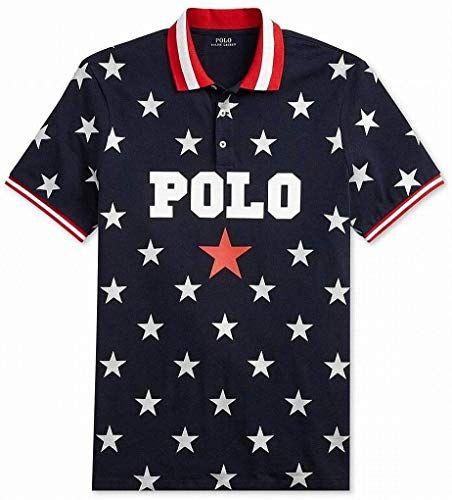 Best Seller Polo Ralph Lauren Mens Shirt Star Print Polo Rugby Online Theprettyfashion Ralph Lauren Mens Shirts Men Shirt Style Mens Shirts