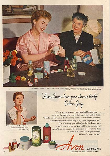 From Good Housekeeping April 1947 | Vintage Cosmetics | Pinterest ...