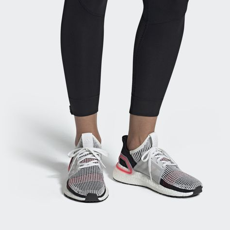 Ultraboost 19 Shoes Cloud White Core Black Grey F35282