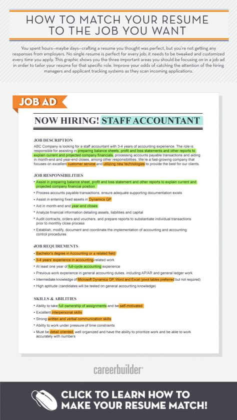 8 best images about All About Job Searching on Pinterest Job - staff accountant job description