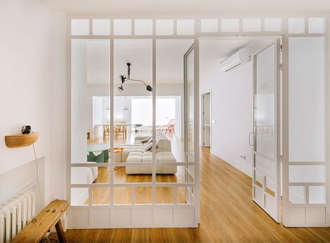 Inspiring Modern Apartment in Madrid by Nimu Studio