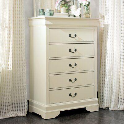 Babcock 5 Drawer Chest Color Beige In 2020 Furniture Bedroom Furniture 5 Drawer Chest