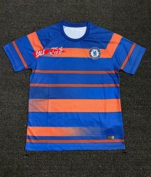 reputable site 08a45 d7b2b 2018-19 Cheap Jersey Chelsea Blue Training Replica Soccer ...