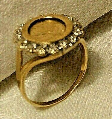 10k Gold Coin Panda Ring In 2020 Panda Ring Gold Coins 10k Gold