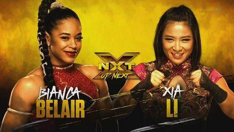 #BiancaBelair & #Xia will do battle NEXT. #WWENXT. ▶️👀 Watch Online -👉 wrestlingonlinematches.com