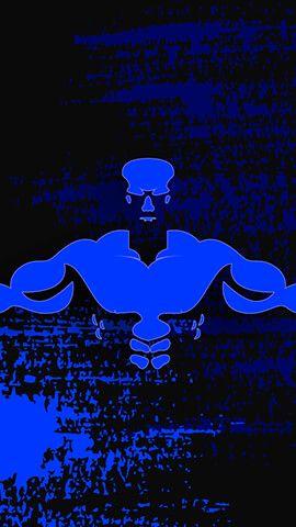 Bodybuilder Blue Wallpaper Android Wallpaper Body Building Women