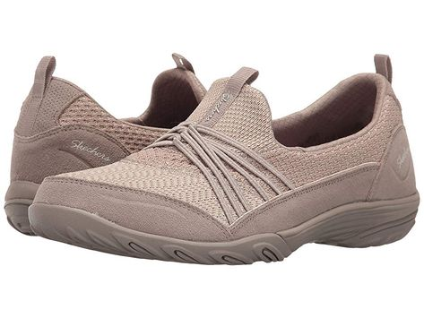 SKECHERS Empress (Taupe) Women's Shoes. Dread early morning