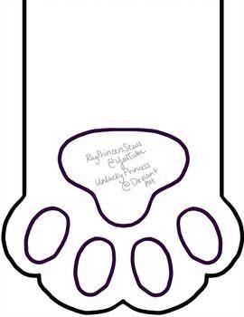 dog paw stocking template  Cat Paw Stocking Pattern by UnluckyPrincess | Stocking ...
