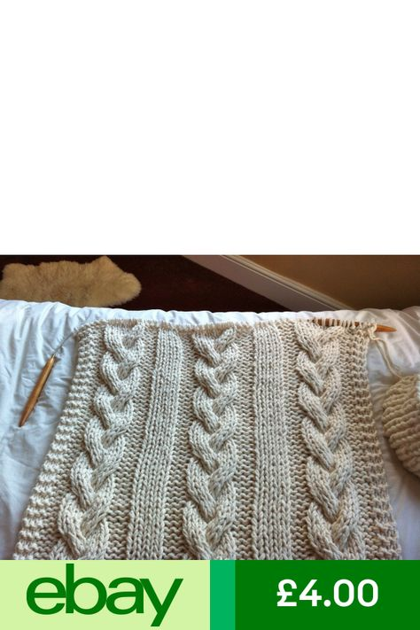 Knitting Pattern For Cable Knit Blanket Extreme Knitting Giant