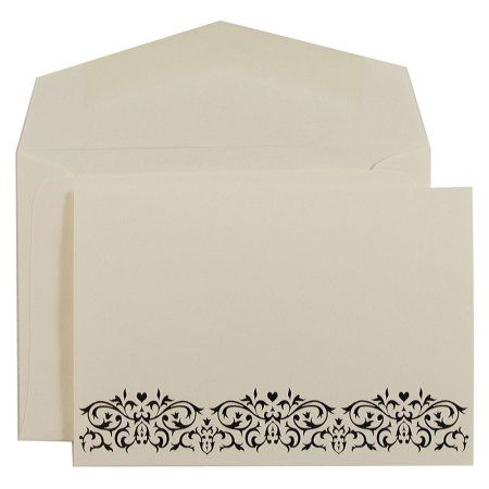 Jam Paper Wedding Invitation Sets Small 4 875 X 3 375 Ecru With