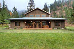 Una Cabana Que Te Enamorara Casas De Estilo Rustico Casas