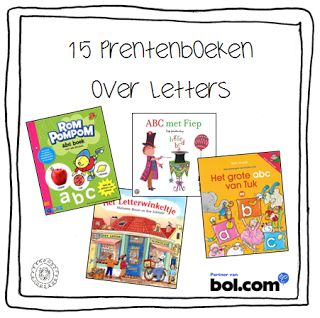 15 prentenboeken over letters | Beginnende geletterdheid