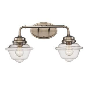 Bel Air Lighting 8 In 2 Light Brushed Nickel Vanity Light 21182 Bn With Images Bel Air Lighting Vanity Lighting Brushed Nickel Lighting