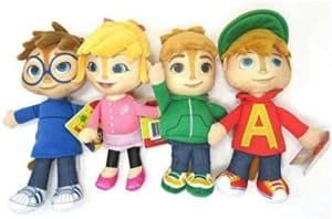 Alvin And The Chipmunks Plushies 4 Set Group Check More At Https