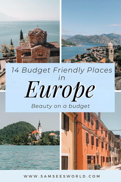 Cheap Europe Travel Destinations
