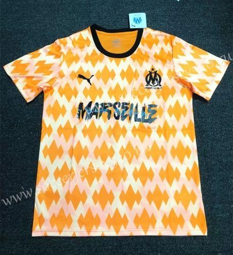 Limited Edition 2019 2020 Olympique De Marseille Orange Thailand Soccer Jersey Aaa 407 Olympique De Marseille Soccer Jersey Marseille