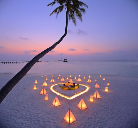 Romantic experience at Gili Lankanfushi on the Maldives