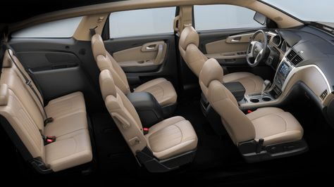 Chevy Traverse Interior Con Imagenes