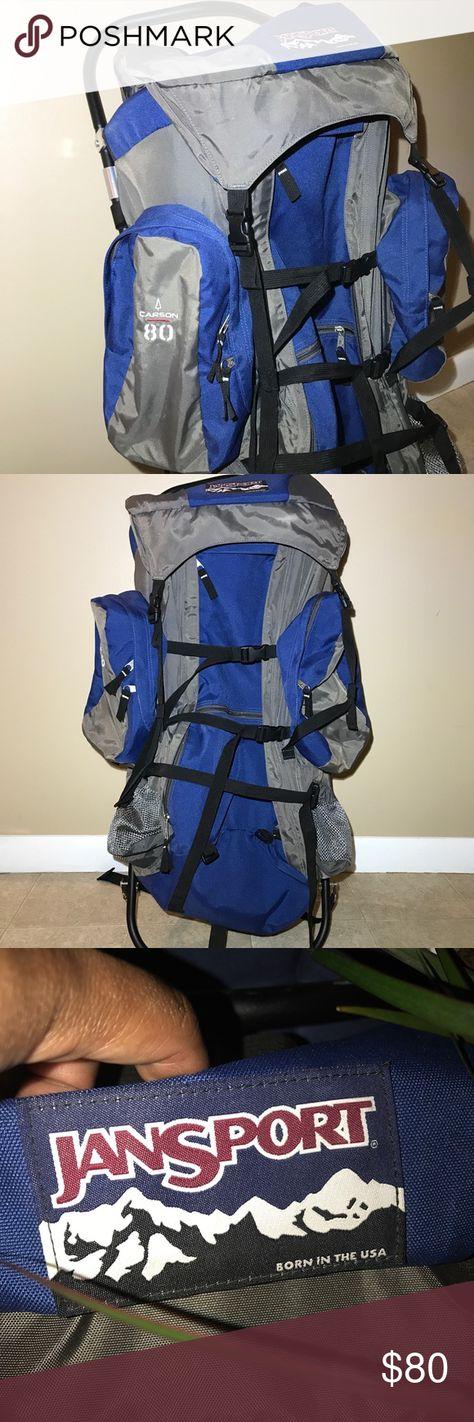 JanSport Superbreak Backpack- Discontinued Colors (Multi Navy ...