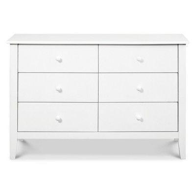 Carter S By Davinci Morgan 6 Drawer Dresser White 6 Drawer