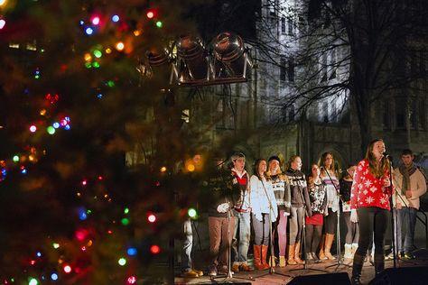 Christmas Tree Lighting 2013 - The Bostonians perform