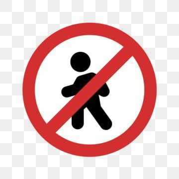 Vector No Entry For Pedestrians Icon No Icons Crossing Icon Pedestrian Icon Png And Vector With Transparent Background For Free Download Instagram Logo Logo Facebook Background Banner