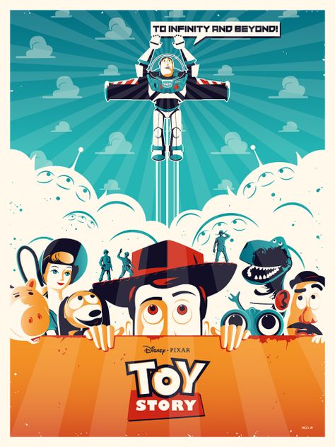Official TOY STORY Poster - PosterSpy