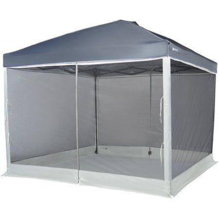 Ozark Trail Screen Walls For 10 Ft X 10 Ft Canopy With 2 Doors Walmart Com Ozark Trail Canopy Shade Tent