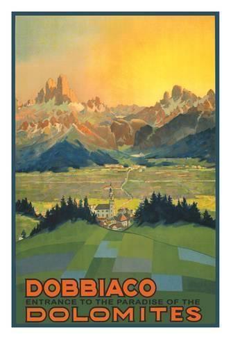 Solda Italian Alps Italia Italy Travel Tourism Trip Vintage Poster repo FREE S//H