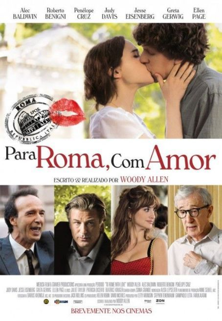 Ferdi Susler Adli Kullanicinin To Rome With Love Panosundaki Pin Roma Tam Film Film
