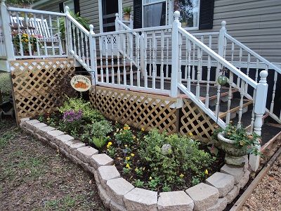 Best Mobil Home Porch Ideas Images On Pinterest Mobile Homes
