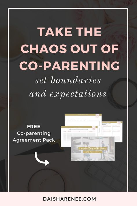 Use The Child Custody Agreement Pack To Help You And Your Ex Reduce