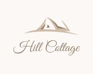 Hill Cottage Is A Creative Logo DesignThis Vector And Scalable To Desire Size Without Lose Of QualityThis Can Be Used For Variou