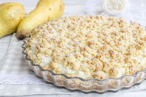 Ricetta Sbriciolata Ricotta E Pere Ricotta Torta Crostata Cremosa
