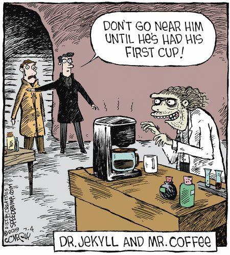 Pin By Jon On Makes Me Laugh Coffee Cartoon Coffee Humor Friday Coffee