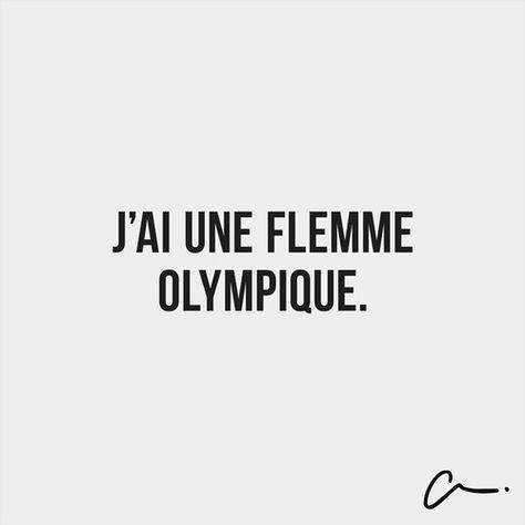 flemme olympique ^^